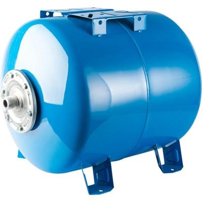 STOUT STW-0003 Расширительный бак, гидроаккумулятор 200 л. горизонтальный (цвет синий) - фото 26499