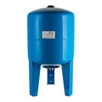 STOUT STW-0002 Расширительный бак, гидроаккумулятор 50 л. вертикальный (цвет синий)