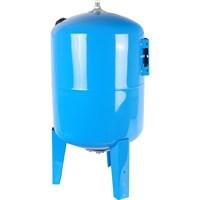 STOUT STW-0002 Расширительный бак, гидроаккумулятор 100 л. вертикальный (цвет синий)